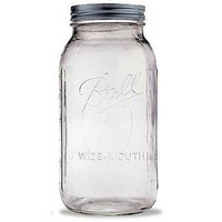 Ball - Wide Mouth 64 oz. Half Gallon 2 Quart Mason Jars - 1 Count