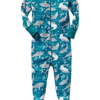 Old Navy Printed Footed Sleepers For Baby