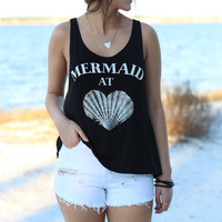 Mermaid At Heart Tank Top