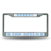 North Carolina Tar Heels NCAA Chrome License Plate Frame