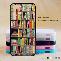 Books Phone Case For iPhone 6 Plus For iPhone 6 For iPhone 5/5S For iPhone 4/4S For iPhone 5C iPhone X 8 8 Plus