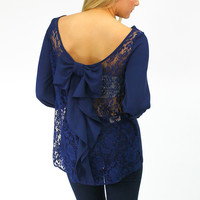 Vogue Velour Blouse