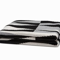 Right Angles Throw Blanket