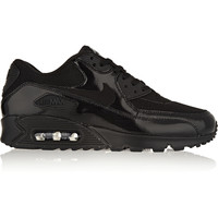 Nike - Air Max 90 Premium leather, mesh and suede sneakers