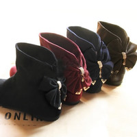 Sweet bow boots BBBBA