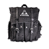 All Seeing Backpack by Disturbia