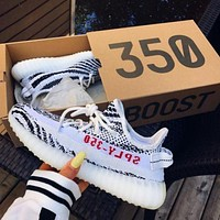 Adidas Yeezy 350 V2 Men's and Women's All-match Canvas Sneakers Shoes