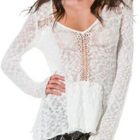BILLABONG FIND YOU PONCHO SWEATER | Swell.com