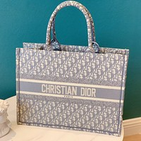 DIOR BOOK TOTE DIOR OBLIQUE BAG