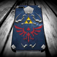 The Legend of Zelda Hylian Shield 2 for iPhone 4/4s/5/5s/5c/6/6 Plus Case, Samsung Galaxy S3/S4/S5/Note 3/4 Case, iPod 4/5 Case, HtC One M7 M8 and Nexus Case **
