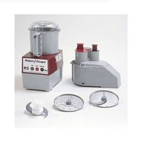 Robot Coupe R 2 N Continuous Feed Combination Food Processor with 3 Quart Bowl - 120V