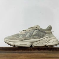 Kuyou Fa19630 Adidas Ozweego Adiprene Sneakers Gray Lxcon 3m Reflective Vintage Daddy Shoes