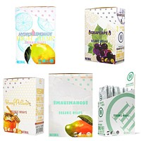 5 Flavors of High Hemp Wraps (Full box of each flavor)