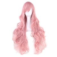 Synthetic Wavy Long Wig