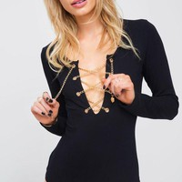 Cupshe Dazzling Sexy Solid Color Romper
