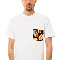 Marillest The All American Hotdog Tee in White