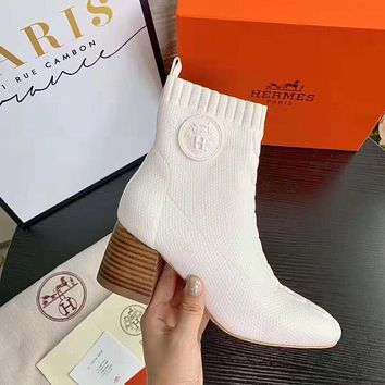 Hermes Woolen socks and boots