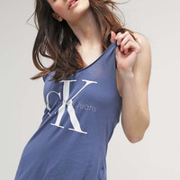 Calvin Klein Blue Tank Top