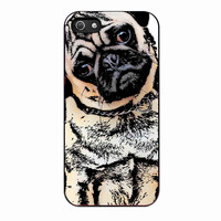 pugs alot dog b178a7c7-a84e-4404-8445-3ba4266c585c FOR iphone 5 CASE *02*