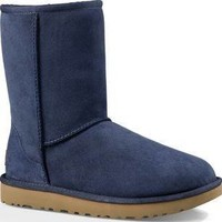 New UGG Classic II Short Women's Boots in Navy Size 12