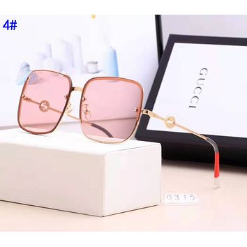 Gucci Fashion Women Chic Summer Style Sun Shades Eyeglasses Glasses Sunglasses 4#