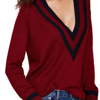 Club Day Sweater in Red
