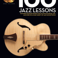 100 Jazz Lessons - Guitar Lesson Goldmine Series (Book & CD)