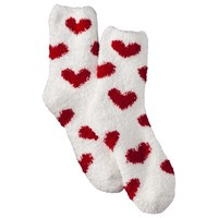 Xhilaration® Juniors Cozy Valentine's Day Crew Socks - Assorted Colors/Patterns