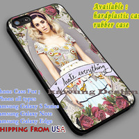 I Hate Everything   Marina and The Diamonds   Quote iPhone 6s 6 6s+ 6plus Cases Samsung Galaxy s5 s6 Edge+ NOTE 5 4 3 #music #mtd dl2