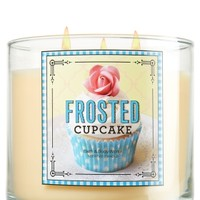 14.5 oz. 3-Wick Candle Frosted Cupcake