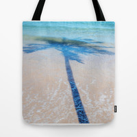 TREE IN SEA Tote Bag by Catspaws | Society6