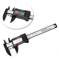LCD Electronic Digital Vernier Caliper Gauge Measure Stone Bead Gem Jewelry Tool