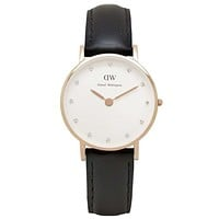Women's Classy Sheffield Watch in Rose Gold by Daniel Wellington