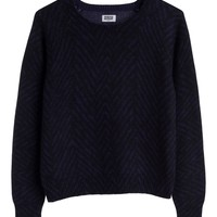 Orion Print Sweater | Knits | Weekday.com