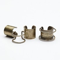Jules Smith Womens Thick Bar Ring Set