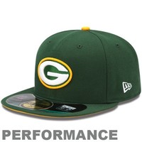 New Era Green Bay Packers 2013 On-Field Player Sideline Performance 59FIFTY Fitted Hat - Green