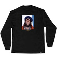 Primitive Biggie L/S Tee In Black