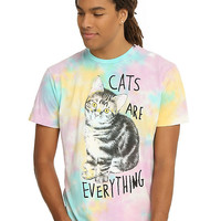 Teen Hearts Cats Are Everything T-Shirt
