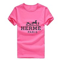Boys & Men Hermes Fashion Casual Shirt Top Tee