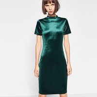 VELVET DRESS - DRESSES-TRF | ZARA United Kingdom