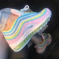 NIKE Air Max 97 Trending Women Casual Air Cushion Sport Running Shoes Sneakers