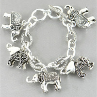 Elephant Charm Bracelet from P.S. I Love You More Boutique