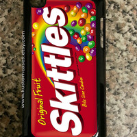iPod Touch 4 Skittles iPod Touch Case Available in Black or White