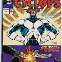 Vintage Marvel Comics Presents Cyclops Comic Book #17 1989 April Marvel Comics