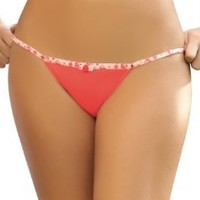 Laura Women's G String Thong Orange High Quality #103090