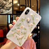 Transparent Dried Flowers Case