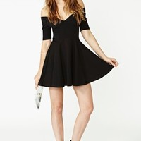 Nasty Gal Hot Ticket Skater Dress