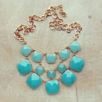 Pree Brulee - Blue Love Song Necklace
