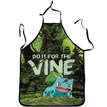 Do It For The Vine Bulbasaur Pokemon Cooking Apron
