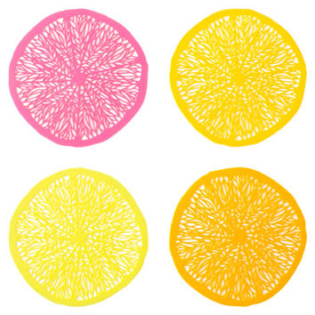 Slice Coasters (Set of 4) | ZARA HOME United States of America